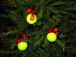 as the world purrs tennis ball christmas ornaments for dog themed