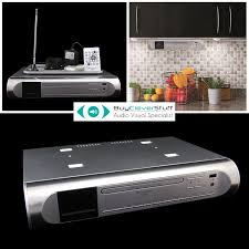 kitchen under cabinet radio cd player exclusive the brand new silver ur2170si under cabinet fm dab