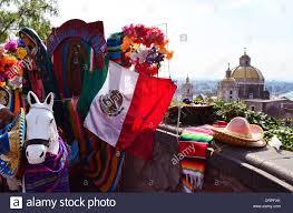 Guadalupe Flag Mexico Flag Child Stockfotos U0026 Mexico Flag Child Bilder Alamy