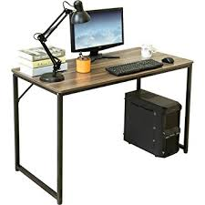 Office Desk Walnut Dland Home Office Desk 47 Modern Simple Computer Pc