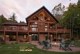 golden eagle log cabin homes cabin home plans with basements swawou