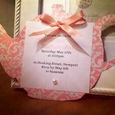 kitchen tea invites ideas teapot birthday invitations alanarasbach