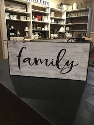 Home Decor Family Signs Family Farmhouse Sign Country Home Decor Nana U0027s Farmhouse St