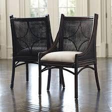cane dining chairs ballard designs