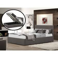 ottoman beds with mattress fiona ottoman fabric upholstered sleigh bed luxury leather beds