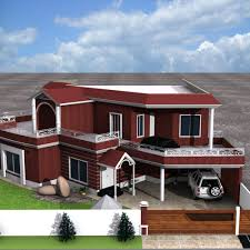 3d front elevation com european house plans one story