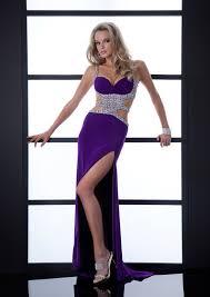 purple column strapless sweetheart zipper full length celebrity