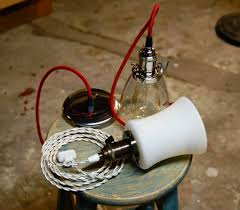 Pendant Light Socket Uno Threaded Light Socket Solid Brass Vintage Knob Shade