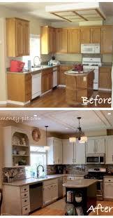 diy kitchen makeovers best 25 cheap kitchen makeover ideas on