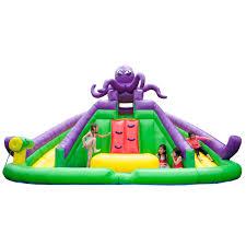 octopus bouncer jumper bounce house wet dry combo slide castle