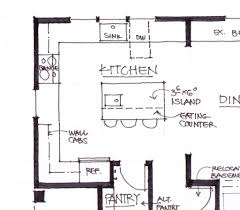 kitchen island space requirements clearance kitchen island modern drop leaf pictures photo sizes