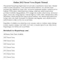 nissan versa interior manual 2013 nissan versa repair manual online by santosh issuu