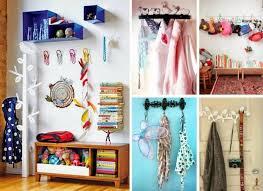 design interieur idées organisation chambre enfant patères