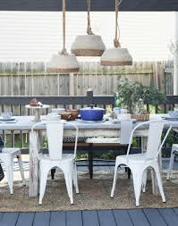 Patio Table Plug by Diy Outdoor Pendant Light Unexpected Elegance