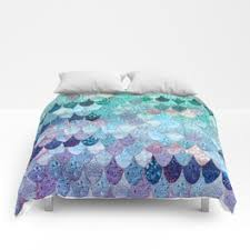 Turquoise And Purple Bedding Comforters Society6