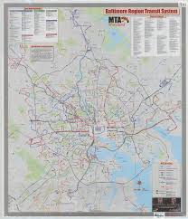 Ny Mta Map Mta Maryland System Maps Baltimore Region Downtown Baltimore