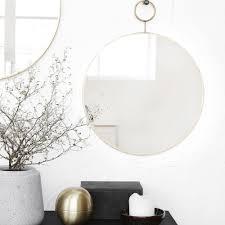 Feng Shui Esszimmer Spiegel Runde Deko Spiegel Aus Metall Ebay