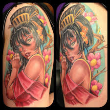 cool cartoon tattoos 46 cool pin up tattoos