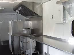 interior view u0026 concession equipment advanced concession trailers