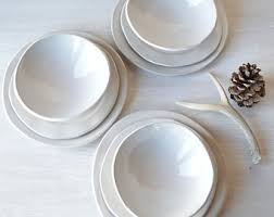 dinnerware sets etsy