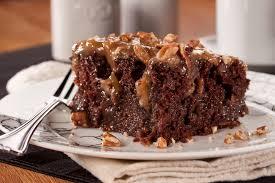 caramel pecan poke cake mrfood com