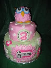 owl birthday cakes cake it from me owl birthday cake
