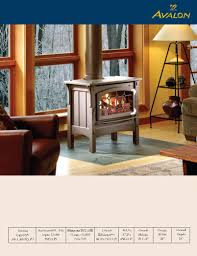 avalon stoves gas stove u0026 fireplace user manual pdf download