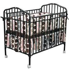 Mini Folding Crib Folding Crib Bloom Mini Mini Folding Crib Frame Grey