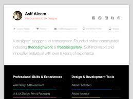 25 web developer resume templates free download psd word