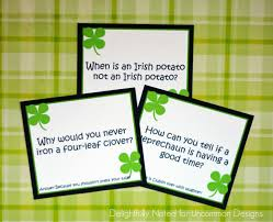 printable st patricks day lunch box jokes uncommon designs