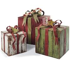 christmas gift packages artisan packages with tin bows artisan christmas decor and craft