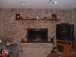 painted brick fireplace mantels house wallpaper loversiq
