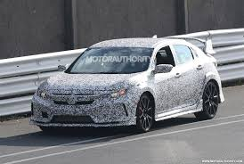 Honda Civic Usa 2018 Honda Civic Type R Spy Shots And Video