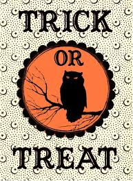 trick or treat bags free printable trick or treat bag label the graphics fairy