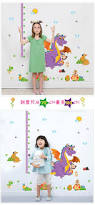 dinosaur vinyl wall decals large small kids growth chart height dinosaur vinyl wall decals large small kids growth chart height measure