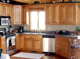 incridible kitchen countertop ideas with maple cabinets on kitchen