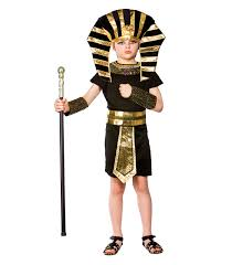 boys egyptian pharaoh costume fancy dress up halloween party