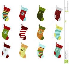 retro christmas stockings stock vector image 54715269