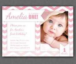 Sample Of 7th Birthday Invitation Card Free One Year Old Birthday Invitations Template Drevio