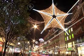 where can you buy christmas lights london uk november 10 2011 christmas lights decorations stock