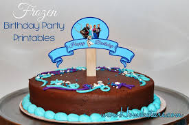 disney u0027s frozen birthday party printable free