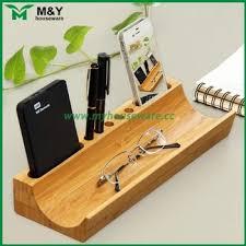 bureau en bambou bambou bureau objet de décoration accessoires de bureau en bambou