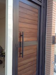 Modern Front Entry Doors In African Mahogany Chad Womack by Contemporary Front Doors Home Design Mannahatta Us