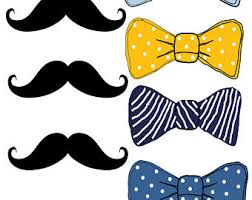 mustache and bow tie baby shower bowtie backdrop etsy