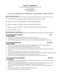 Retail Sales Associate Resume Sample by Cv For Joseph D Stafford Iii Aug 2015