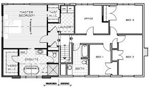 housing plans drawings house plan
