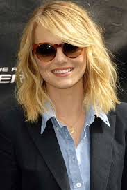 hairstyles glasses round faces long hair with blonde bob haircut for white round faces also glasses