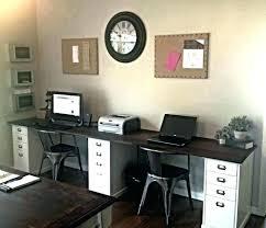 Computer Desk For 2 2 Person Desks Psychicsecrets Info