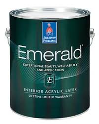 Sherwin Williams by Emerald Interior Acrylic Latex Paint Sherwin Williams