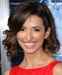 india layered hairstyles india de beaufort medium wavy formal hairstyle dark brunette
